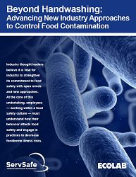 Beyond Handwashing: New Approaches to Control Food Contamination